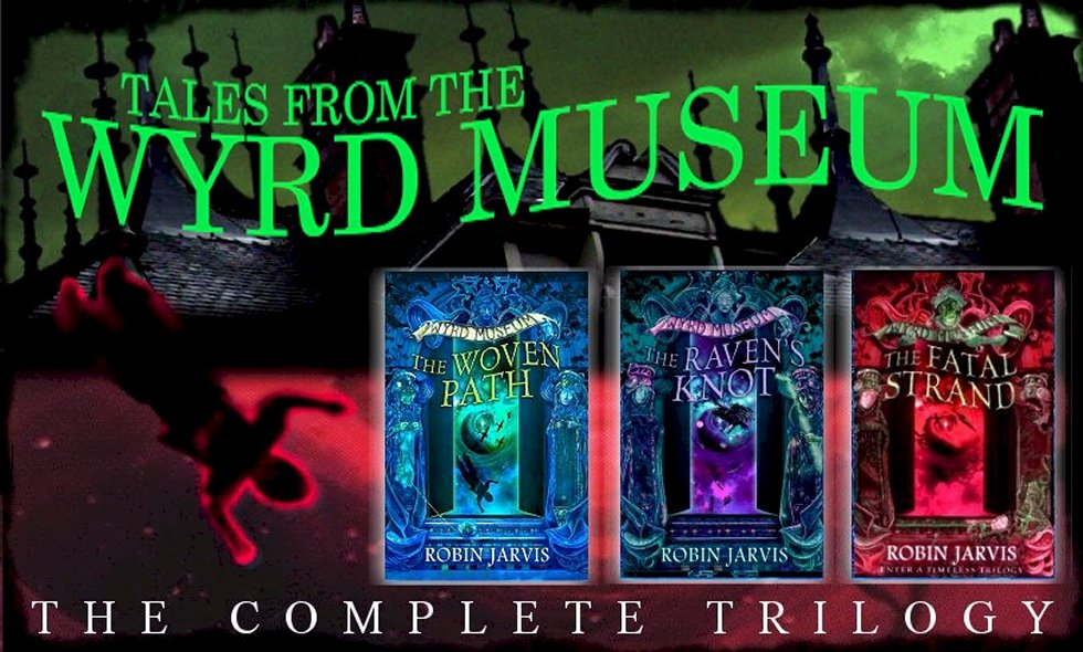 Link to The Wyrd Museum Trilogy homepage